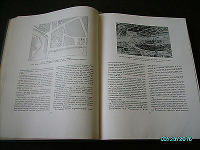 Rare  Russia 1953 Architecture Of Leningrad , Huge Illustrated Book 5