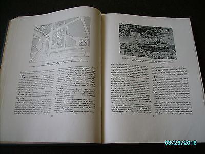 Rare  Russia 1953 Architecture Of Leningrad , Huge Illustrated Book 5
