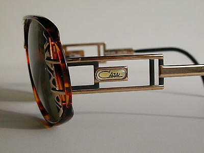 d09238f64e0e CAZAL VINTAGE EYEGLASSES - NOS - Model 875- Col. 755 - Gold   Amber ...