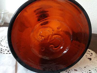 Apothekerflasche;Sol. ammon chlorat; 3 ltr.;braunglas;Korkenstöpsel;Loft;Deco