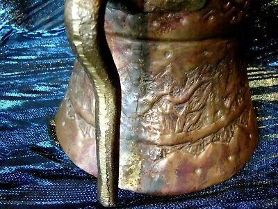 Camel Caravan - Hand Hammered Copper - Water Pot - Silk Road Traders - Egypt 4