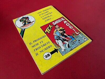 TEX Gigante n. 37 FALSA ACCUSA L.250 Ed Araldo (1967) Fumetto Bonelli 2