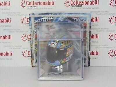 CASCO LORIS CAPIROSSI 2010 LOSAIL CIRCUIT 300th GRAND PRIX - HELMET MOTOGP 1:5 6