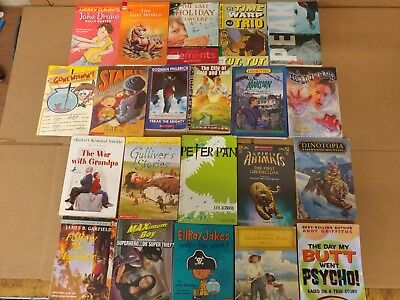 Lot of 20 Chapter Books for BOYS Youth Early Reader Young Adults Children RANDOM 6