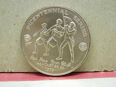 1744 - 1802 Adjutant General Usa  Red Rose Coin Club 1974 Medallion 2