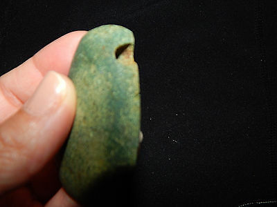 Pre-Columbian Ceremonial Pendant, Authentic, Central America 8