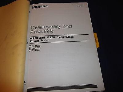 cat caterpillar m318 excavator service shop repair book manual s n rh picclick com Cat M315 Cat M322C