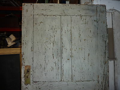 """LATE 18th century ANTIQUE colonial FOUR panel DOOR paint PATINA 78 x 35"""" x 1.25 11"""