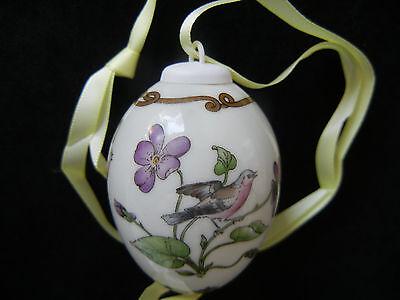 meine Pos-Nr. 4 OVP Hutschenreuther Das Ei Porzellan Jahresei Osterei 1989
