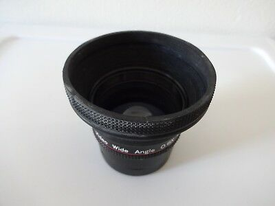 Lenmar Hi-Resolution 0.6X Video Auto Focus Wide Angle Lens 3 Element VWAF60  4