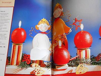 Bastelbuch Laubsägen Weihnachten Deko Basteln