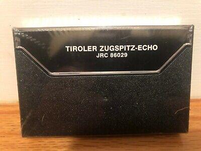 Tiroler Zugspitz Echo Folklore Songs From Tirol Cassette Factory Sealed 4