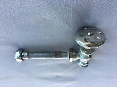 Antique Chrome Brass Sink Toilet Water Supply Shut off Valve Vtg 221-19J 4