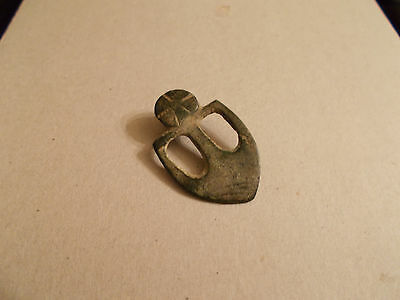 Antique Celtic Axe Head Pendant