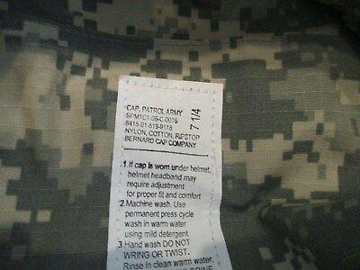 031138bb4aa USGI PATROL CAP HAT Size 7 1 4 ACU Digital Camo Army NSN  8415-01 ...