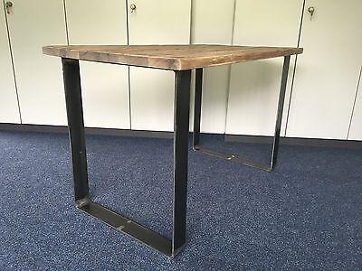 2er Set Tischbeine Gebogen Design Tischkufen Tischgestell 80 X 8