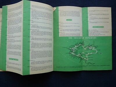 1950s Vintage Guide Brittany France Town Guides Railway Celebrations 5