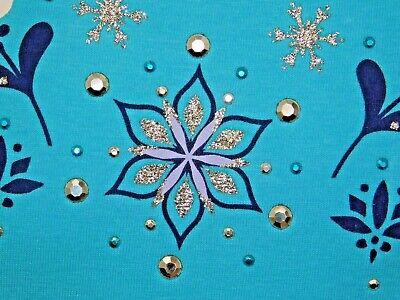 Disney Frozen Little Girls 2-Piece Elsa T shirt & Scooter Skirt Set OFFICIAL DIS 7
