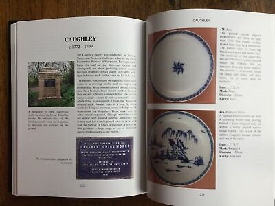 British Blue & White Porcelain Saucers. Over 480 patterns illustrated. Hardback 3