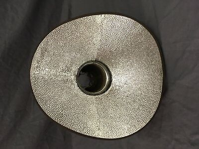 Vintage Industrial Sterling Mercury Glass Shade Reflector Steampunk NOS 127-18E 5