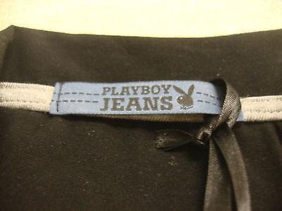 PLAYBOY JEANS MIAMI BODYGUARD STAFF BLACK LONG SHIRT SIZES S thru XL RARE NEW