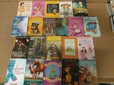Lot of 20 Chapter Books for GIRLS Youth Early Reader Young Adult Children RANDOM 5