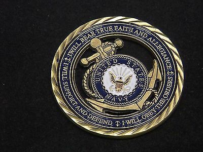 U.S. Navy / Core Values - USN Challenge Coin Naval Collectible Sailor 7