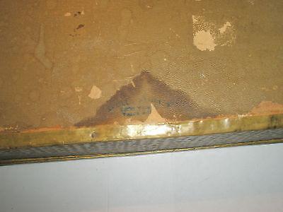 Vintage 1910 Apollo Studios NY Hammered Copper Arts & Crafts Wood Lined Desk Box 12