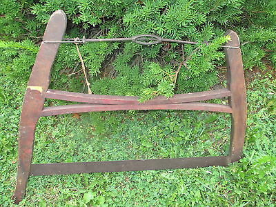 Unique Antique Vintage Saw! VHTF! Nice old piece of history for your collection! 5