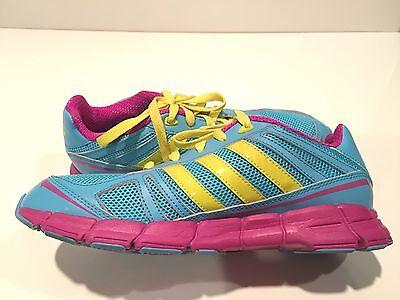 ADIDAS ADIFAST K Girls' Running Athletic Shoes Youth Size 6.5 M ...
