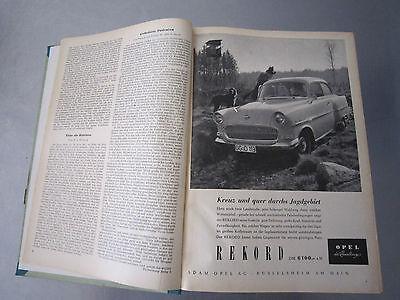 """""""Wild und Hund"""" kompletter 60. Jahrgang von April 1957 - März 1958,Hege,Pirsch 5"""