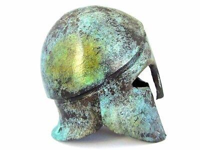 Corinthian Helmet Ancient Bronze Greek Museum Replica (1378) 4