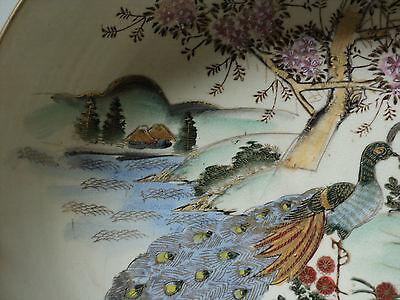19th C. ANTIQUE JAPANESE SATSUMA POTTERY BOWL, MEIJI PERIOD (1868-1912) 4