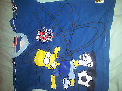 Bundle Of 4 Boys T Shirts  Age 6-7 Years Simpsons Skateboard England Army 3