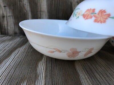 Arcopal Dishes Milk Glass Soup, Cereal Or Salad Bowls Set Of 3 Different Desig 2