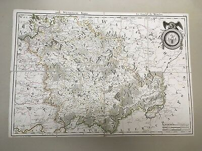 Imperial Russia / Livland/Latvia/Estonia/ Der Wendensche Kreis 1798 /ORIGINAL! 2