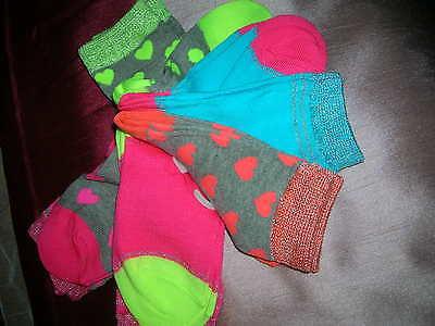 5 Pairs Socks for Girl EU 26/30 3