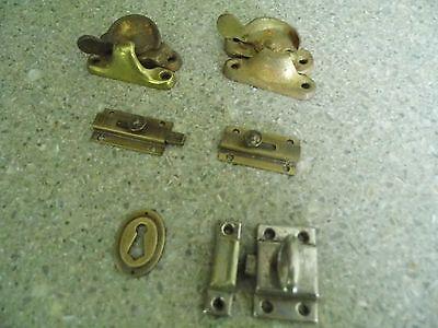 Vintage Hardware - Latches & Keywhole cover 2
