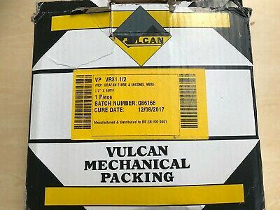 """8 Metres, VULCAN VR31-1/2"""" Expanded Graphite Packing, Grafan Fibre & Inconl Wire 2"""