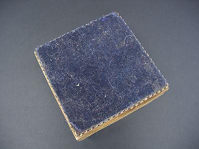 1940 -1960 ceramic / bone / ? Handmade stone Box Jewelry Storage Unique Vintage 7