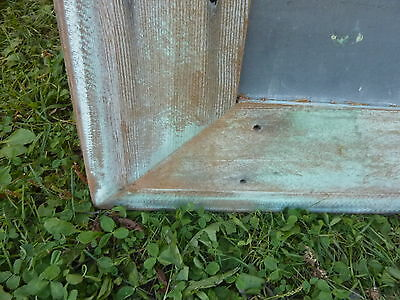 early 20th century schoolhouse SLATE chalkboard salvaged wood FRAME 45.5 x 30.75 2