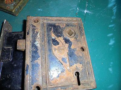 Three Lock Inserts See No Names  Vtg 4
