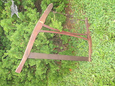 Unique Antique Vintage Saw! VHTF! Nice old piece of history for your collection! 6