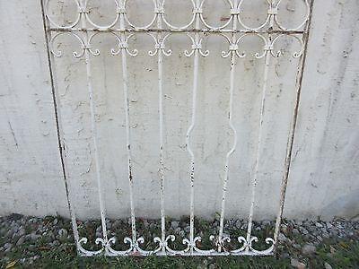 Antique Victorian Iron Gate Window Garden Fence Architectural Salvage #838 4