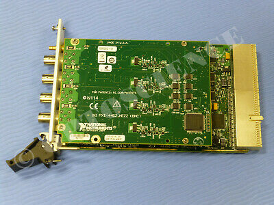 National Instruments PXI-4462 Dynamic Signal Analyzer Card, NI DSA DAQ 2