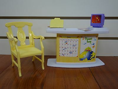 Gloria Class Room Play Set (9816)  For Doll Furniture 4