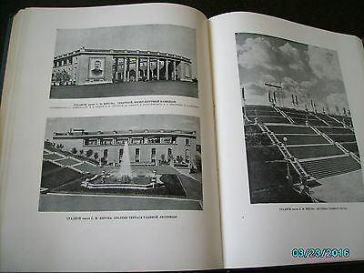 Rare  Russia 1953 Architecture Of Leningrad , Huge Illustrated Book 9