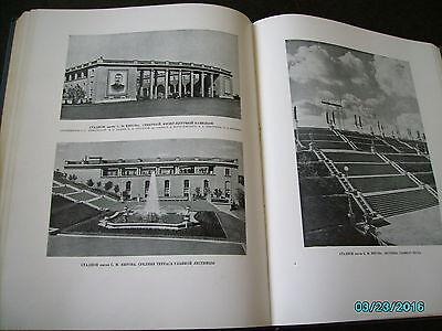 Rare  Russia 1953 Architecture Of Leningrad , Huge Illustrated Book 9