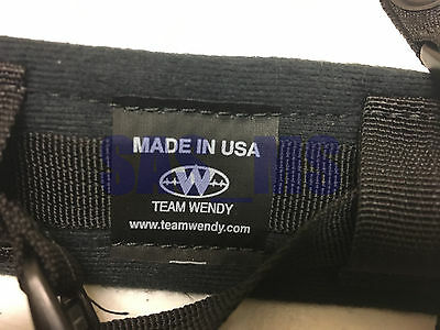 Team Wendy 4 Point Chinstrap  Retrofit Kit Assembly With Hardware New