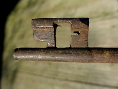 Antique Large Church Castle Home Barn Key Lock Rare Collectable 3